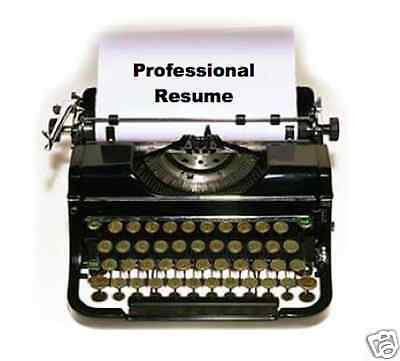 Professional Resume Writing  Effective  Targeted To The Job You Want
