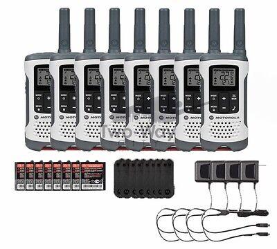Motorola Talkabout T260 Two-Way Radio / Walkie Talkies Rechargeable 8-PACK segunda mano  Embacar hacia Argentina