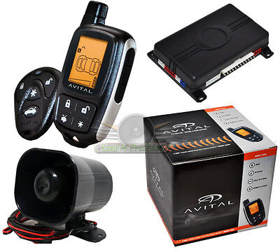 Avital 5305 2-Way LCD Remote Start And Security Car Alarm System New 5303 /5305L, used for sale  West Creek