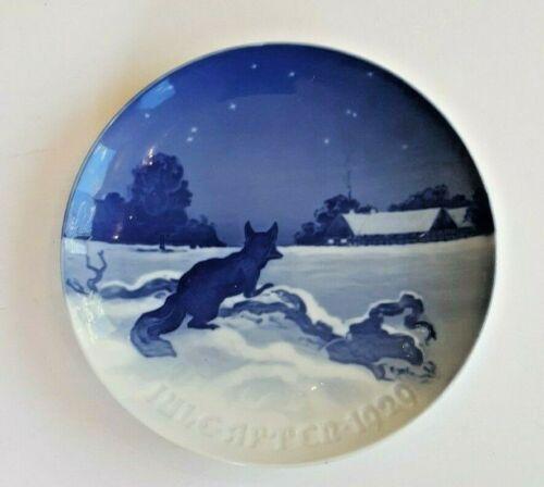 Bing & Grondahl  1929  Christmas Plate