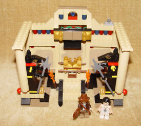 Details about LEGO Sets: Raiders Lost Ark 7621-1 Indiana Jones and the Lost Tomb 100% COMPLETE