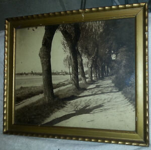 1930 SIGNED Eckernförde W. Baasch GERMAN ART ORIGINAL FRAMED