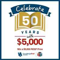 WIN A $5,000 RESP from Knowledge First Financial