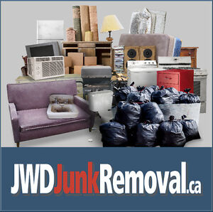 J.W.D Junk Removal - Fast & Easy - Call or Book Online Today!