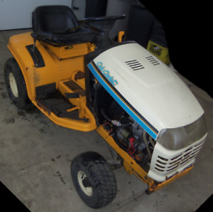 Cub Cadet tractor for parts not working