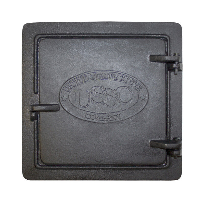 United States Stove Cast Iron Chimney Cleanout Doors