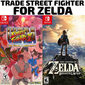 TRADE SWITCH Street Fighter for Zelda (or others)