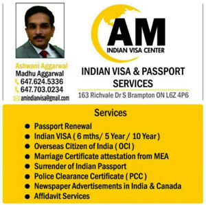 INDIAN VISA AND PASSPORT SERVICE ASSISTANCE