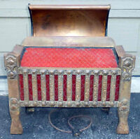 Working Vintage Cast Iron Antique Electric Radiant Heater