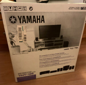 Yamaha VHT-196 5.1 receiver/speaker package 1080p & 3D capable