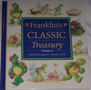 Franklin's the Turtle Classic Treasury Volume 1 Hard Cover Book London Ontario image 1