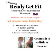 Ready Get Fit now accepting new clients!