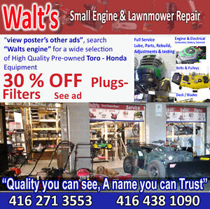 Walt's Small Engine - Repair & Service Toronto - Vaughan