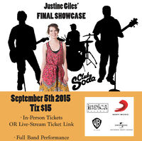 Support Justine Giles' FINAL Music Industry Showcase in MTL