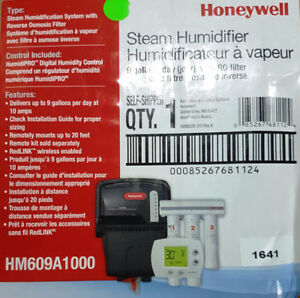 Brand new Honeywell Steam Humidifier with reverse osmosis