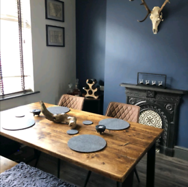 Bespoke dining tables and benches