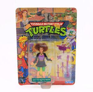 Vintage Teenage Mutant Ninja Turtles April the Ravishing Reporte