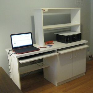 Meuble d'ordinateur robuste – Solid Computer Desk