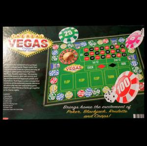 The Real Vegas Casino Board Game