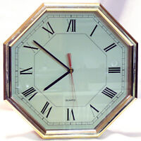 "Decorative 12"" Wall Clock"