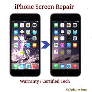 iPhone 7 ☆ 7+ ☆ 8 ☆ 8+  Screen Repair Starts from $95 ☆ Warranty
