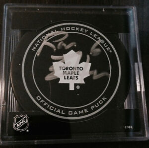 RON ELLIS Signed Toronto Maple Leafs NHL Hockey Puck