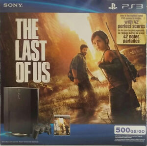 500GB PS3 with 2 controllers and a dual charging station