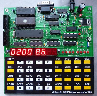 интегральные схемы другие Motorola 6802 Microprocessor