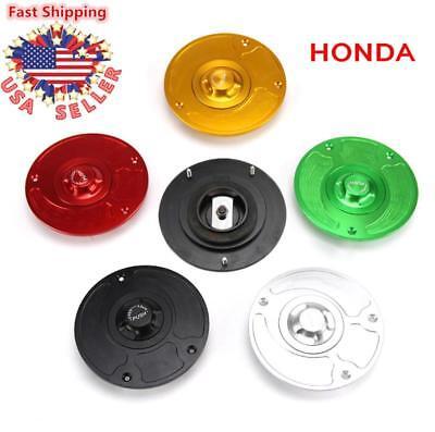 Keyless Gas Fuel Tank Cap Cover For Honda CBR600F1-F4 CBR600RR 1000RR 1100XX USA 600 Gas Fuel Tank