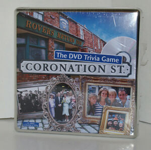 Coronation Street The DVD Trivia Game NEW! Sealed Tin