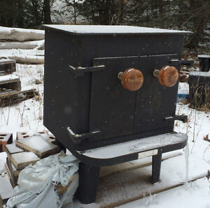 WOOD BURNING STOVES and COMMERCIAL GRILL for sale