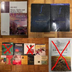 Cegep/College Books and Novels For Sale