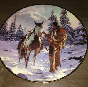 Collector plate from Last Warriors Collection Peterborough Peterborough Area image 1
