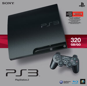 Sony Play Station 3 (PS3) 320GB video gaming console