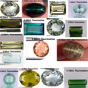 LOOSE GEMSTONES TOURMALINE
