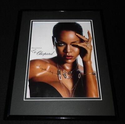 Rihanna 2017 Chopard Framed 11x14 ORIGINAL Advertisement