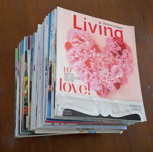 BOXFUL OF MARTHA STEWART MAGAZINES