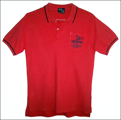 POLO Ralph Lauren PRLC Yacht Club embroidered s/s polo shirt - size L 16-18