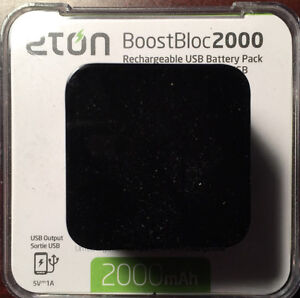 BoostBloc 2000 Smart Phone Backup Battery New in Box West Island Greater Montréal image 1
