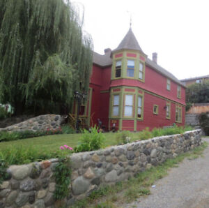 Heritage Home Accommodations in Kamloops, 5 min from downtown