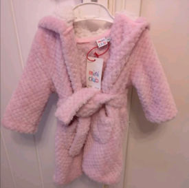 **Brand new 6-9 months dressing gown**