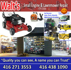 Walt's Lawnmower Repair Markham -Scarborough-Vaughan- TO