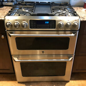 GE Cafe Gas Range with double ovens - 1/2 PRICE