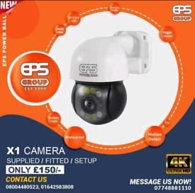 4K CCTV Camera Security 7 Day recording