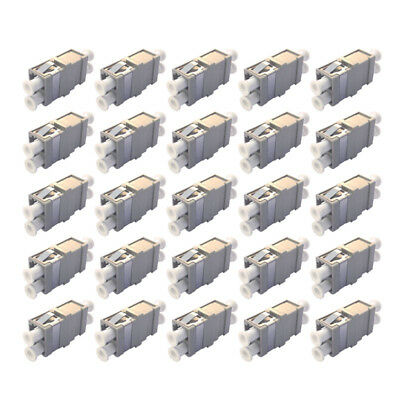 NEW Set of 25 LC-LC Duplex Optical Fiber Optic Cable Coupler Adapters Tripp Lite