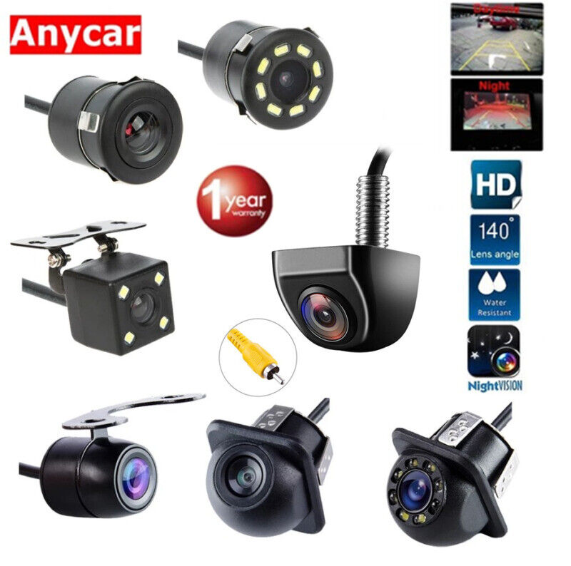 170° Car Rear View Reverse Backup Parking Camera HD Night Vision Waterproof CCD