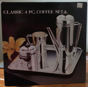 Silverplated Classic 4 pc. Coffee Set