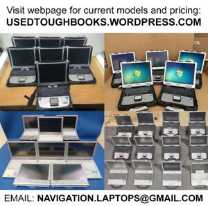 Toughbook DIAGNOSTIC laptops RUGGED WATERPROOF with RS-232 port