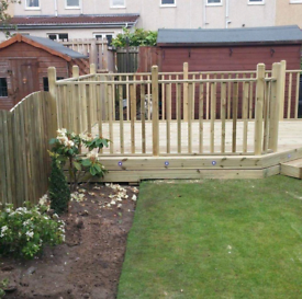 Joiner fencing decking wetwall laminate sheds
