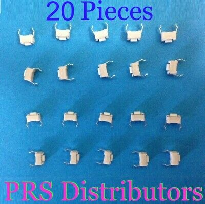 Momentary Tactile Tact Push Button Switch 2 Pins Dip 3x6x4.3mm 20 Pcs Us Seller